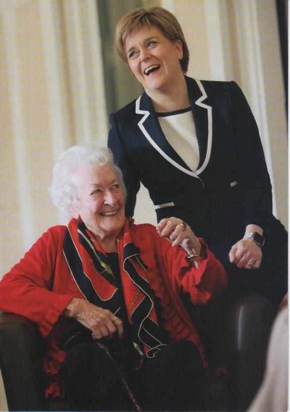 Nicola and Winnie