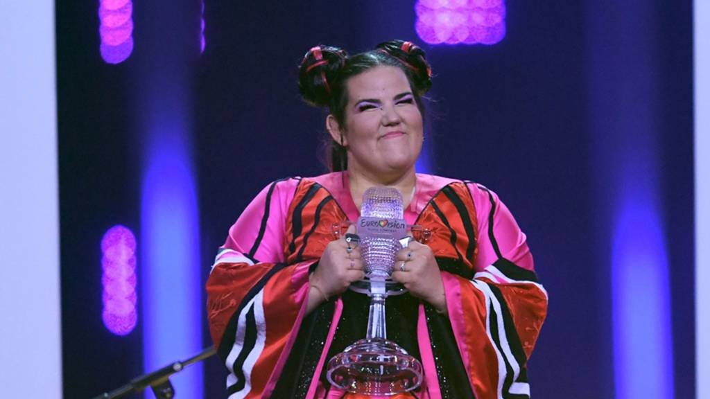 The Israeli winner Netta
