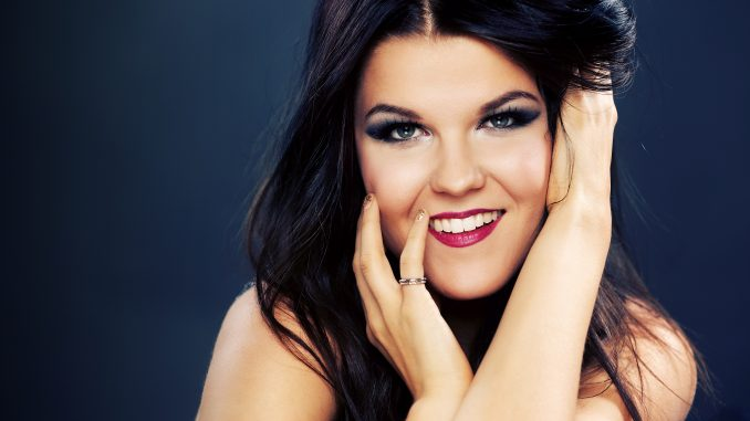 Saara Aalto who sung my favourite for Finland.