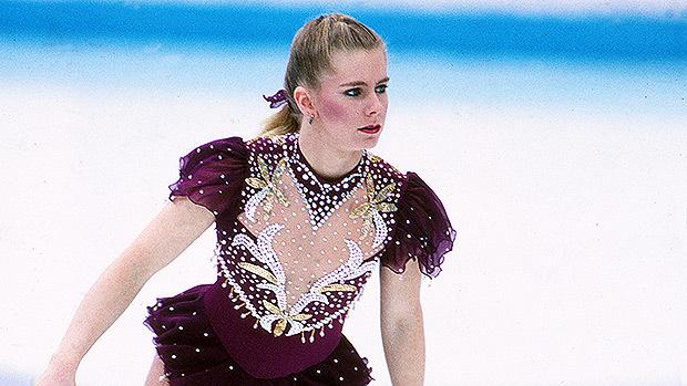 The real Tonya Harding on the ice